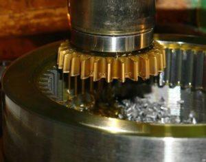 Зубчатые колеса с внутренним зубом