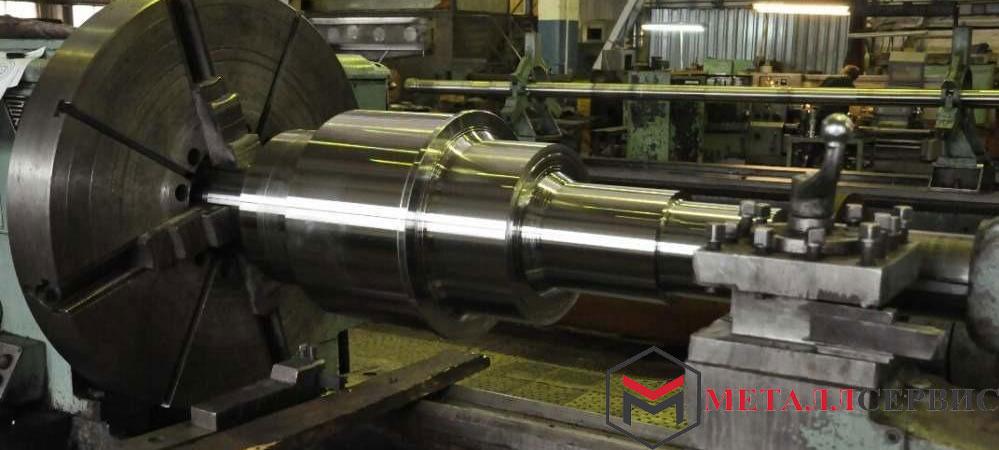 Изготовление валов из нержавеющей стали