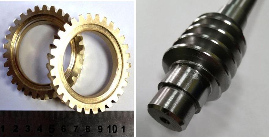 червячное колесо из бронзы